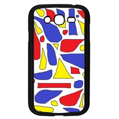 Silly Primaries Samsung Galaxy Grand Duos I9082 Case (black)