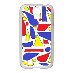 Silly Primaries Samsung GALAXY S4 I9500/ I9505 Case (White)