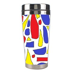 Silly Primaries Stainless Steel Travel Tumbler