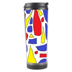 Silly Primaries Travel Tumbler