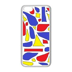 Silly Primaries Apple iPhone 5C Seamless Case (White)