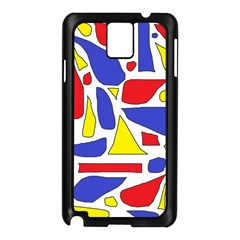 Silly Primaries Samsung Galaxy Note 3 N9005 Case (Black)