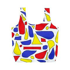 Silly Primaries Reusable Bag (m)