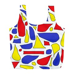Silly Primaries Reusable Bag (l)