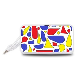 Silly Primaries Portable Speaker (White)