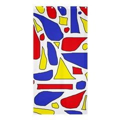 Silly Primaries Shower Curtain 36  x 72  (Stall)