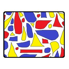 Silly Primaries Fleece Blanket (Small)