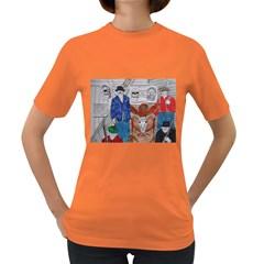 Murdered Big Foot Human,1910, Women s T-shirt (Colored)