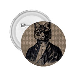 Harlequin Cat 2 25  Button