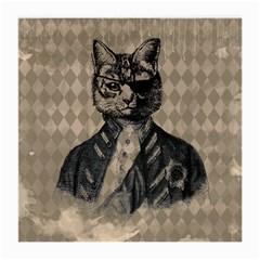 Harlequin Cat Glasses Cloth (Medium, Two Sided)