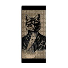 Harlequin Cat Hand Towel