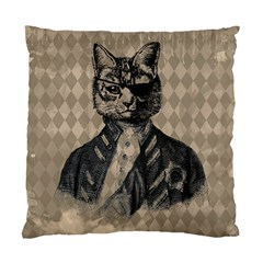 Harlequin Cat Cushion Case (single Sided)