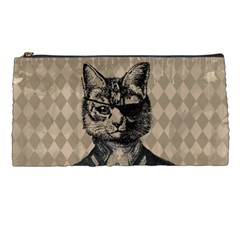 Harlequin Cat Pencil Case