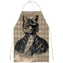 Harlequin Cat Apron