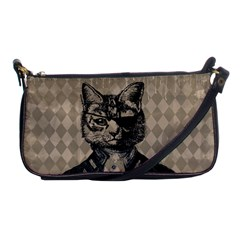 Harlequin Cat Evening Bag