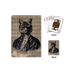 Harlequin Cat Playing Cards (Mini)