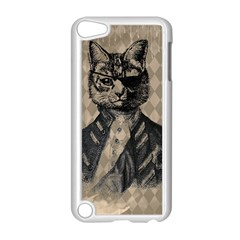 Harlequin Cat Apple iPod Touch 5 Case (White)