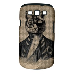 Harlequin Cat Samsung Galaxy S III Classic Hardshell Case (PC+Silicone)
