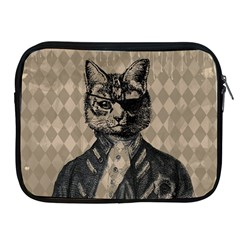 Harlequin Cat Apple Ipad Zippered Sleeve
