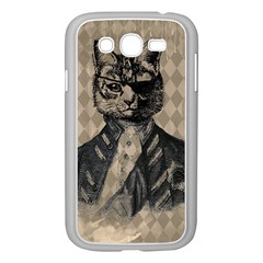 Harlequin Cat Samsung Galaxy Grand DUOS I9082 Case (White)