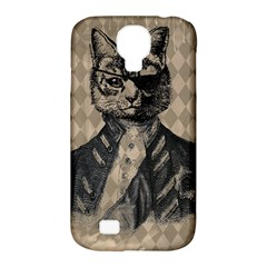 Harlequin Cat Samsung Galaxy S4 Classic Hardshell Case (PC+Silicone)