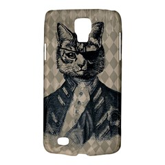 Harlequin Cat Samsung Galaxy S4 Active (I9295) Hardshell Case