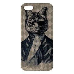 Harlequin Cat iPhone 5S Premium Hardshell Case