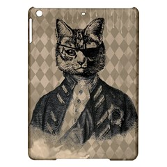 Harlequin Cat Apple iPad Air Hardshell Case