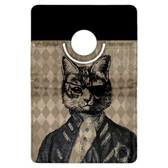 Harlequin Cat Kindle Fire HDX 7  Flip 360 Case