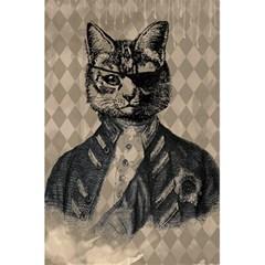 Harlequin Cat Notebook