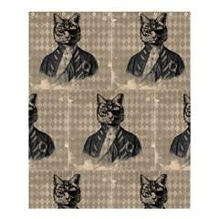 Harlequin Cat Shower Curtain 60  x 72  (Medium)