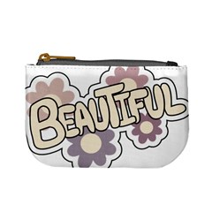 Beautiful Floral Art Coin Change Purse