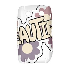 Beautiful Floral Art BlackBerry Bold 9700 Hardshell Case