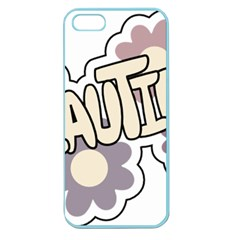Beautiful Floral Art Apple Seamless iPhone 5 Case (Color)