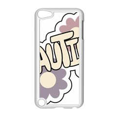 Beautiful Floral Art Apple iPod Touch 5 Case (White)