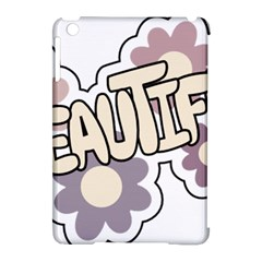 Beautiful Floral Art Apple iPad Mini Hardshell Case (Compatible with Smart Cover)