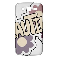 Beautiful Floral Art Samsung Galaxy Mega 5 8 I9152 Hardshell Case
