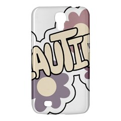 Beautiful Floral Art Samsung Galaxy Mega 6 3  I9200 Hardshell Case