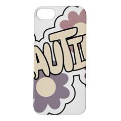Beautiful Floral Art Apple iPhone 5S Hardshell Case