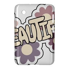 Beautiful Floral Art Samsung Galaxy Tab 2 (7 ) P3100 Hardshell Case