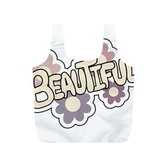 Beautiful Floral Art Reusable Bag (S)