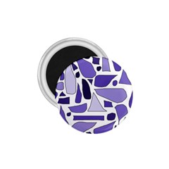Silly Purples 1 75  Button Magnet