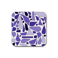 Silly Purples Drink Coasters 4 Pack (Square)