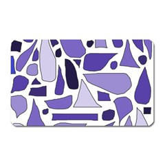 Silly Purples Magnet (Rectangular)