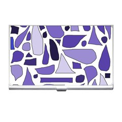 Silly Purples Business Card Holder