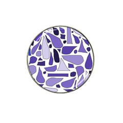 Silly Purples Golf Ball Marker 4 Pack (for Hat Clip)