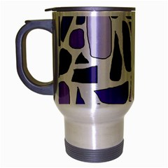 Silly Purples Travel Mug (Silver Gray)