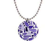Silly Purples Button Necklace