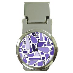 Silly Purples Money Clip With Watch