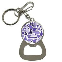 Silly Purples Bottle Opener Key Chain